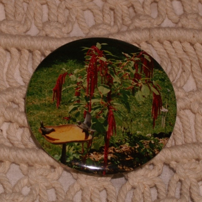 "First 2.25"" Button made with an actual photograph."