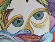 Clown-Scape, 8.5x11